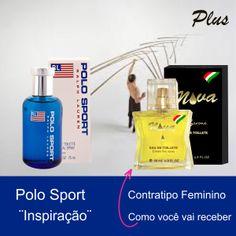 """Contratipo """"Nova"""" inspirado no Perfume Polo Sport. Ideal para o seu dia-a-dia. Fixação de 6 a 8 horas. http://www.novalinha.com.br/perfume-feminino/polo-sport-ralph-lauren-inspiracao-plus.html"""