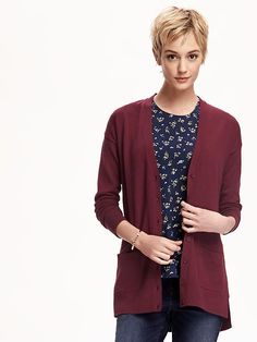 Old Navy Boyfriend Cardi. I could use one in every color
