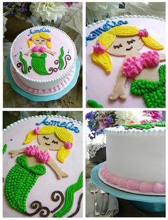 Mermaid cake ~ My Sweet Things