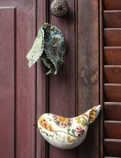 tassel bird - a sewing pattern
