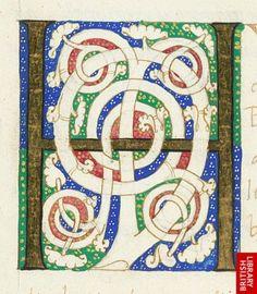 White vine initial 'H'(unc), at the beginning of book 6.   Origin:Italy
