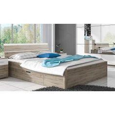 Klasszikus Raven 1 ágyneműtartós ágy laminált bútorlapból | Mabyt - HU