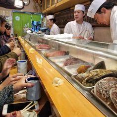 Last Day in Japan: Sushi Breakfast at Sushi Dai