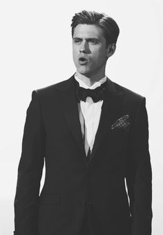 No I am not in love with Aaron Tveit....okay. I am