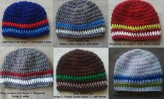 9bd8e90ed09 Build your own baby boy hat 03m or 36m only by TheYarnAlchemist