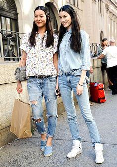 Street style moda en la calle tennis a la moda | Galería de fotos 12 de 22 | Vogue México