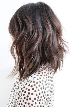 balayage dark hair medium length - Google Search