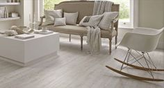 Wood imitation PVC flooring