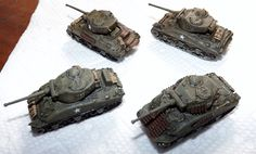1/144 Shermans