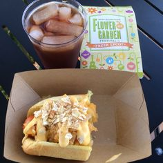 Epcot's Flower & Garden Festival - There's Food & Wine there, it totally fits on this board ;)