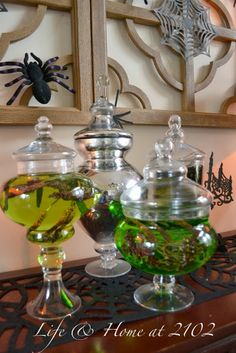 Halloween Apothercary Jars