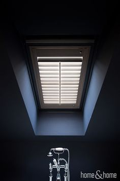 Shutters in bathroom? Why not!