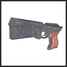 Psycho-Pass - Full Size Dominator Handgun Free Paper Model Download - http://www.papercraftsquare.com/psycho-pass-full-size-dominator-handgun-free-paper-model-download.html