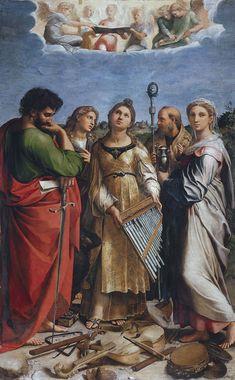 Santa Cecilia, de Rafael