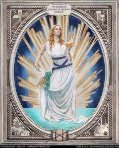 Ninkasi sumerian goddess of beer