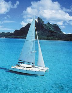 Sailing in the South Pacific