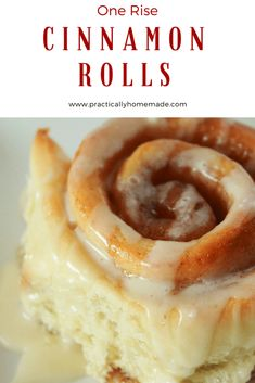 One rise cinnamon rolls - practically homemade quick rise yeast recipe, quick cinnamon rolls, No Yeast Cinnamon Rolls, Homemade Biscuits, Best Breakfast Recipes, Easy Desserts, Cinnamon Desserts, Healthy Desserts, No Cook Meals, Yummy Food, Baking