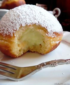 Delicious Donuts, Sweets Cake, Beignets, Churros, Food To Make, Cake Recipes, Deserts, Food And Drink, Cooking Recipes