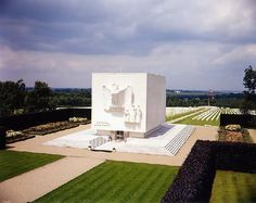 The American Cemetery at Ardennes, Belgium. A total of 5329 of our dead.