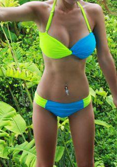 Neon Bikinis on Pinterest #1: cb cef3f0377f1a66c3ab