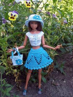 Crochemariluisac: Croche para bonecas...lindo demais