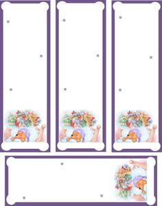 Marcadores de Livros para Imprimir grátis Vários modelos Winnie The Pooh, Bookmarks, Divider, Printables, Party, Ideas, Page Marker, Paper Crafting, Livros
