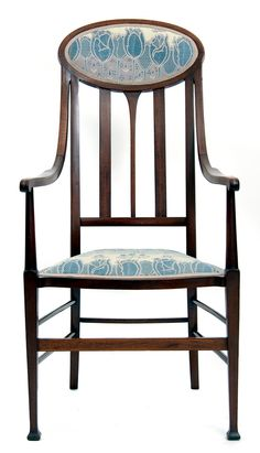 English armchair, c. 1900