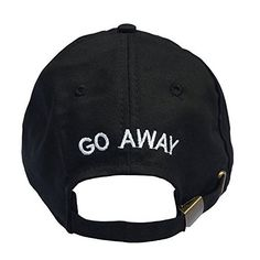 Go Away Embroidered Dad Hat 100% Cotton Baseball Cap For Men And Women Laseci, http://www.amazon.com/dp/B06VVTKW9P/ref=cm_sw_r_pi_dp_x_k2UpzbN8S4DXX
