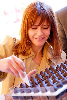 Axelle Red (belgian singer) and Belgian chocolates, !