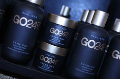 Developed with only the finest, most nourishing ingredients, the GO24-7 line was designed to address the modern man's grooming wants and needs.