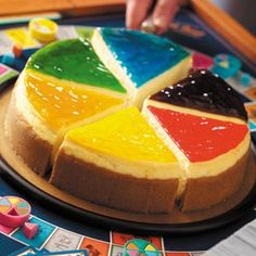 Trivial Pursuit Cheesecake