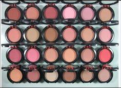 6pcs/lot 2014 New Arrival high quality brand makeup MC 24 color blush palette, free shipping US $12.99