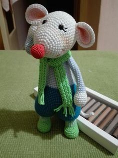 VK is the largest European social network with more than 100 million active users. Kawaii Crochet, Cute Crochet, Crochet Yarn, Crochet Rabbit, Crochet Mouse, Rat Toys, Reno, Crochet Patterns Amigurumi, Crochet Animals