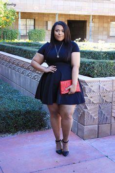 STYLISH BLACK DRESSES FOR THE PLUS SIZE LADIES
