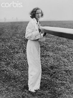 Beryl Markham, bush pilot, 1930s