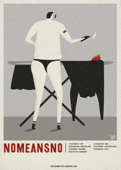 빈티지 일러스트 포스터 - Dawid Ryski