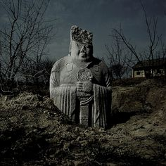 Hui Zhang aims to draws attention to the culture conflict of contemporary and ancient Chinese works of art