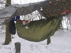 Winter hammock camping...been there, done that. Never doing it again!
