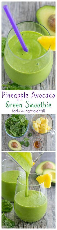 This pineapple avocado green is delicious, nutritious, energy boosting. This pineapple avocado green is delicious, nutritious, energy boosting and good till the Smoothie Legume, Avocado Smoothie, Green Smoothie Recipes, Juice Smoothie, Smoothie Drinks, Healthy Smoothies, Healthy Drinks, Healthy Avocado Recipes, Avocado Shake