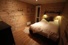 Hyttelivet на Gamatun: спальня готовой
