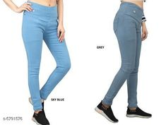Checkout this latest Jeggings Product Name: *Elegant Fashionista Women Jeggings* Sizes:  28 (Waist Size: 28 in, Length Size: 38 in, Hip Size: 32 in)  30 (Waist Size: 30 in, Length Size: 38 in, Hip Size: 34 in)  32 (Waist Size: 32 in, Length Size: 38 in, Hip Size: 36 in)  34 (Waist Size: 34 in, Length Size: 38 in, Hip Size: 38 in)  36 (Waist Size: 36 in, Length Size: 38 in, Hip Size: 40 in)  38 (Waist Size: 38 in, Length Size: 38 in, Hip Size: 42 in)  40 (Waist Size: 40 in, Length Size: 38 in, Hip Size: 44 in)  Country of Origin: India Easy Returns Available In Case Of Any Issue   Catalog Rating: ★4 (364)  Catalog Name: Elegant Fashionista Women Jeggings CatalogID_872087 C79-SC1033 Code: 718-5791576-7422