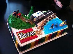 Lego City Cake!