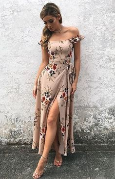 20 Stunning Spring Dresses Ideas You Can Copy Right Now 43 Cute Women Summer Outfits 2019 Pretty Dresses, Sexy Dresses, Beautiful Dresses, Dress Outfits, Casual Dresses, Fashion Dresses, Cute Outfits, Floral Dresses, Short Dresses