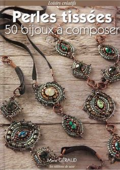 from Perles Tissees 50 Bijoux a Composer by Biloba Wire Jewelry, Jewelry Crafts, Beaded Jewelry, Jewelery, Handmade Jewelry, Jewelry Necklaces, Magazine Beads, Picasa Web Albums, Bead Embroidery Jewelry