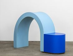 Andy & Dave's Fictive Kin series of stacked-foam seats and tables might be the most fun design has had in years.