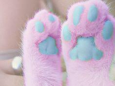 pastel cat paws!