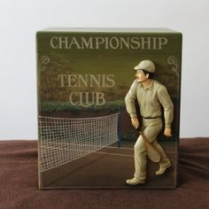 Vintage Tennis decor Vintage tennis art Tennis gift Tennis club Lawn tennis ball Tennis racket Tennis Player gift idea Tennis box Christmas Tennis Clubs, Tennis Players, Tennis Racket, Wimbledon Tennis Club, Tennis Gifts, Vintage Tennis, Lawn Tennis, Wooden Boxes, Vintage Items