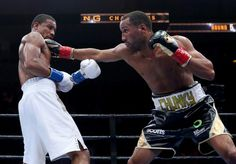 James DeGale holds on to capture the vacant IBF super middleweight title. http://www.potshotboxing.com/?p=5890