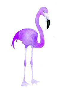 purple flamingo  --  Change My Color Babe