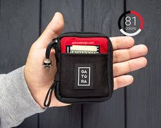 Small pocket organizer  Small EDC pocket pouch organizer from